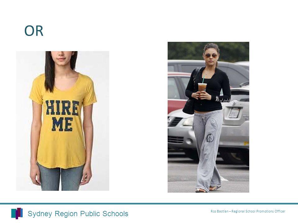 OR Sydney Region Public Schools Ros Bastian – Regional School Promotions Officer