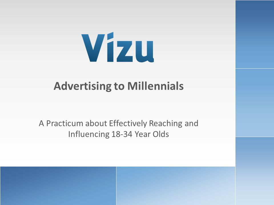 www.brandlift.comCOPYRIGHT 2010 VIZU CORPORATION | ALL RIGHTS RESERVED2 What do we know about Millennials.