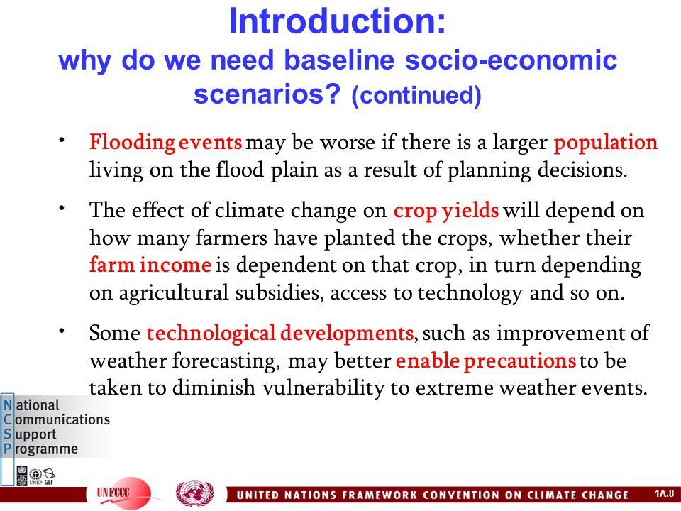 1A.29 Example: the IPCC SRES Scenarios – the scenarios