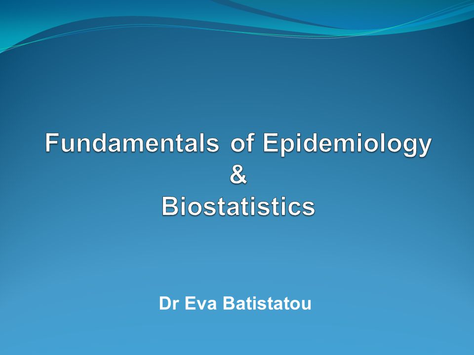 dr eva batistatou. outline of this presentation… what is, Human Body