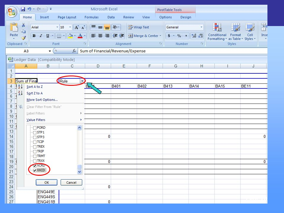 FinLink & Excel Tools Page 20