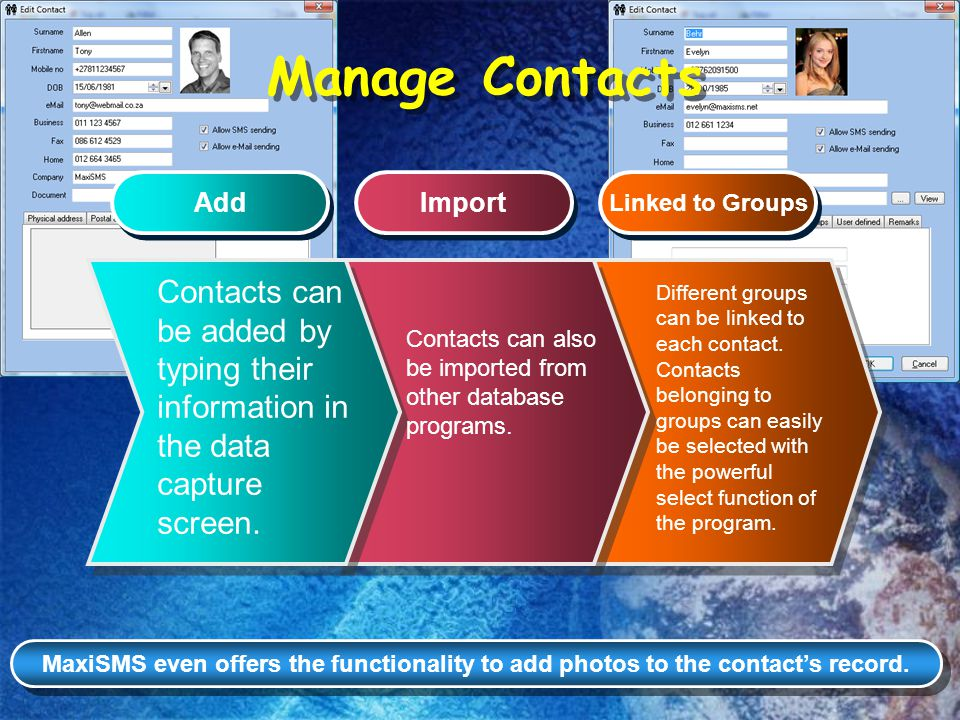 How to select Contacts Open Contacts and click on Filter Open Contacts and click on Filter Type Filter criteria and click on OK Type Filter criteria and click on OK View filtered results View filtered results