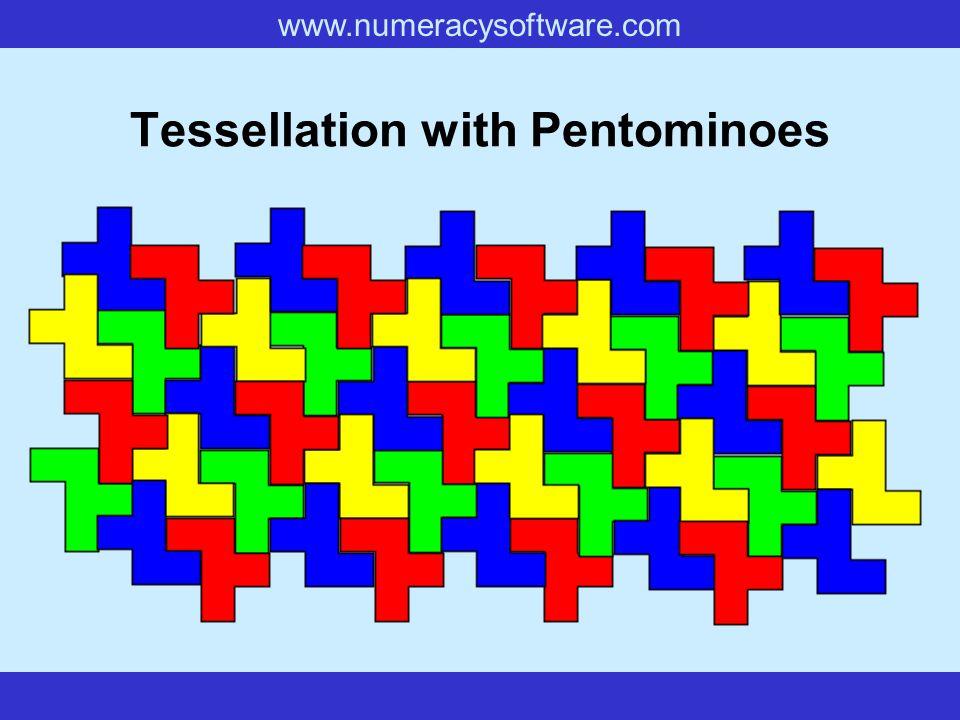 www.numeracysoftware.com Tessellation with Pentominoes
