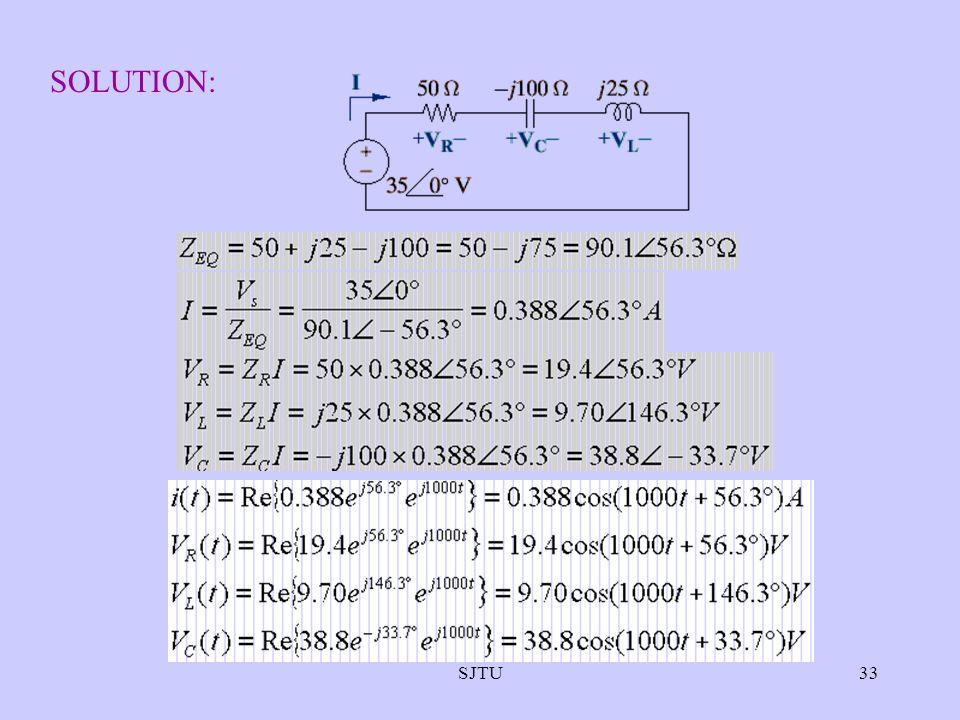 SJTU33 SOLUTION: