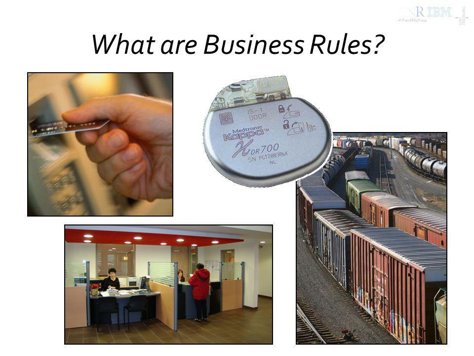 ANR-07-SESUR-003 What are business rules.