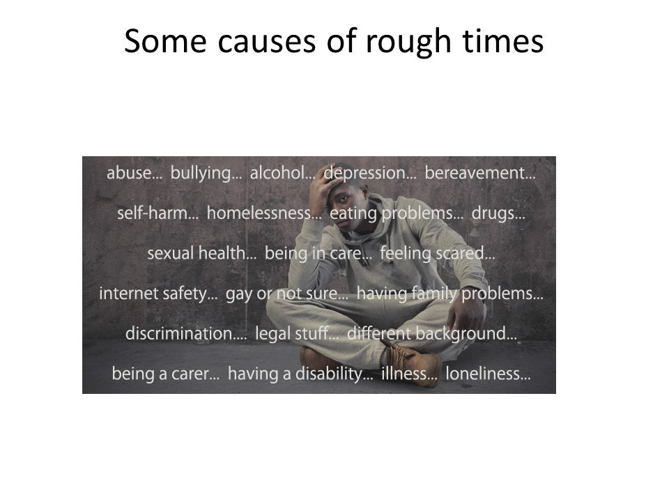 Some causes of rough times
