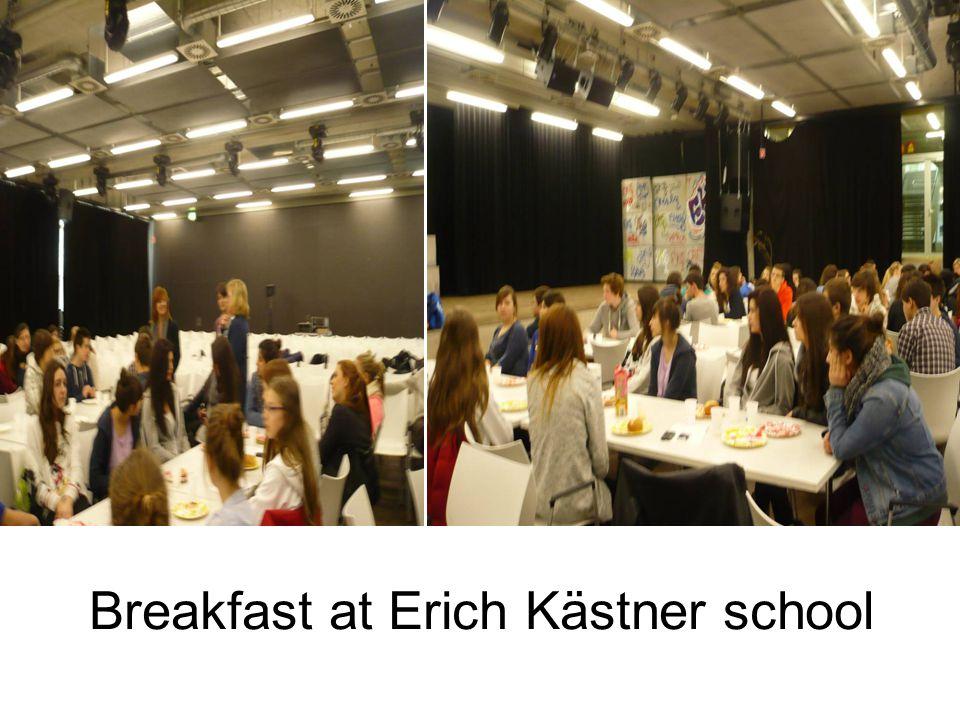 Breakfast at Erich Kästner school