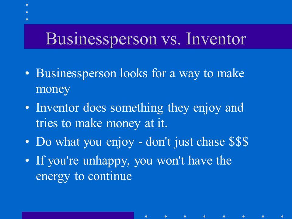 Businessperson vs.