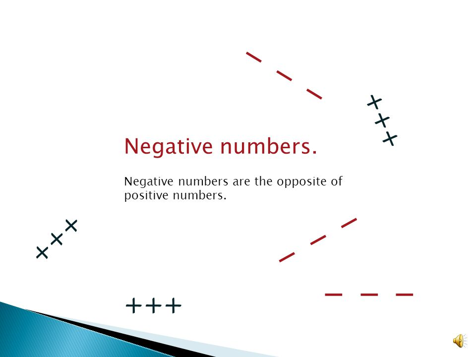 The upside of negativity Introduction to subtracting integers Video #5 about integers #1 about subtracting integers