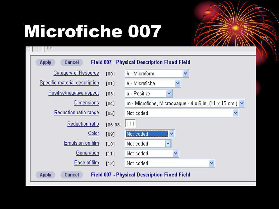 Microfiche 007