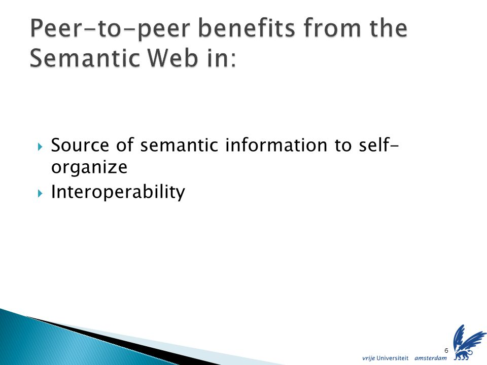 Source of semantic information to self- organize Interoperability 6