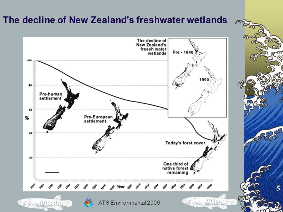 ATS Environmental 2009 6 On the journey from inland breeding habitats to and from the oceans, there can be many obstructions to native fish passage.