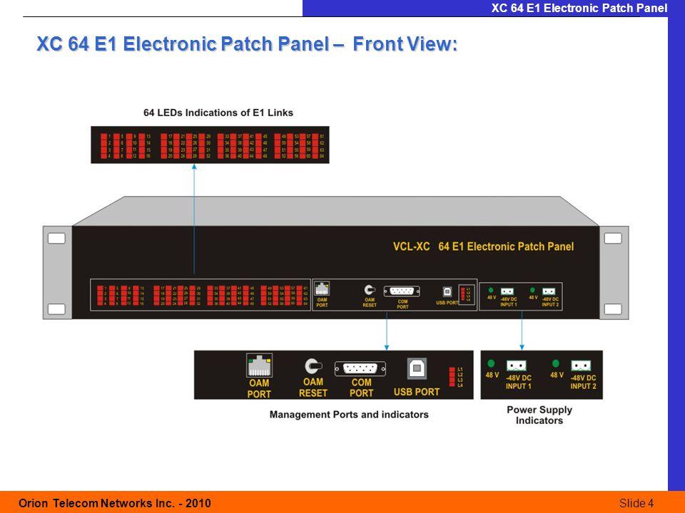 Slide 5 Orion Telecom Networks Inc.