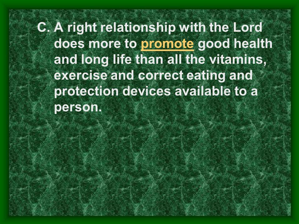 Hear, read, study, memorize, meditate, apply Gods Word Exercise, diet, etc.