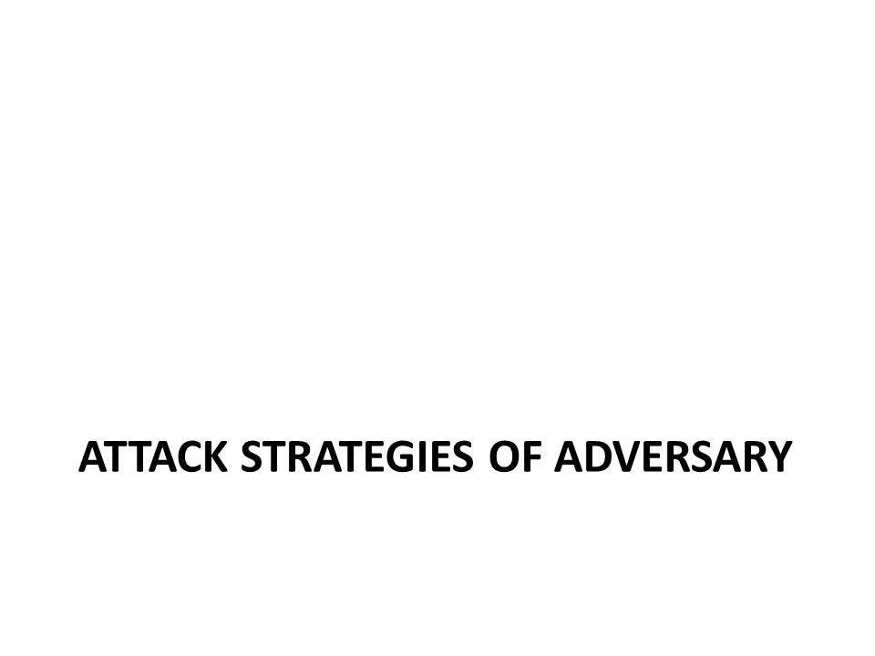 Adversarys Attack – Breaking the Ciphers Assumptions – Knowing the cipher techniques used – Knowing the region the traces are collected – Knowing the physical constraints and general preference of the mobile nodes (again, NOT that of the victim)