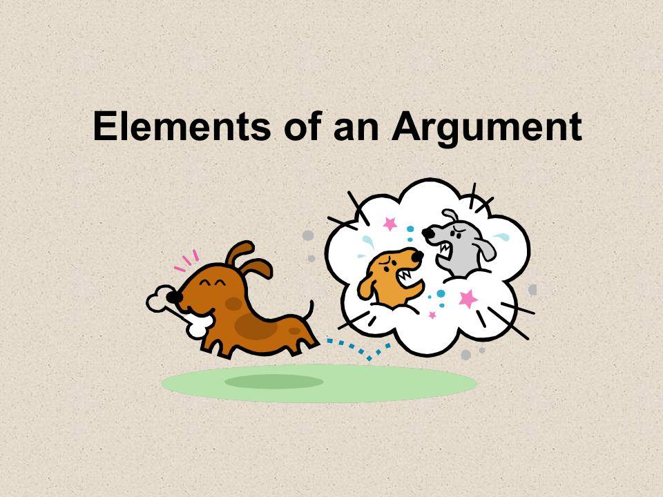 Elements of an Argument