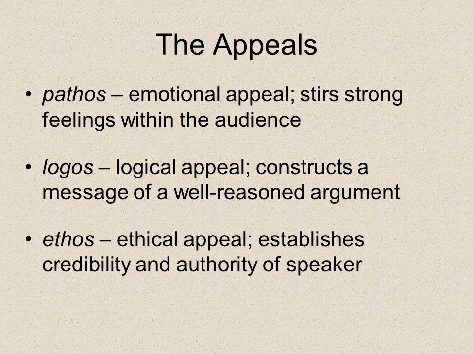 How do I identify pathos.