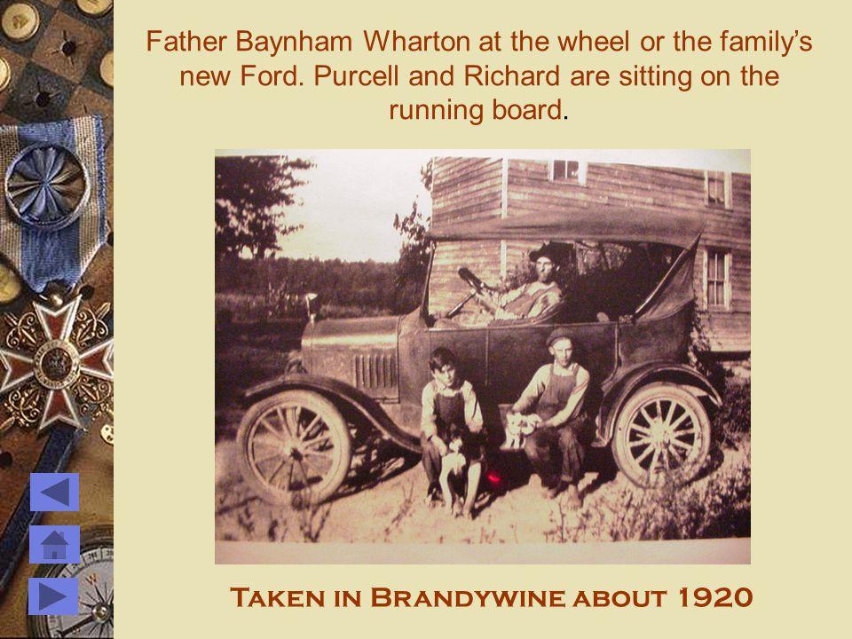 Whartons at Brandywine