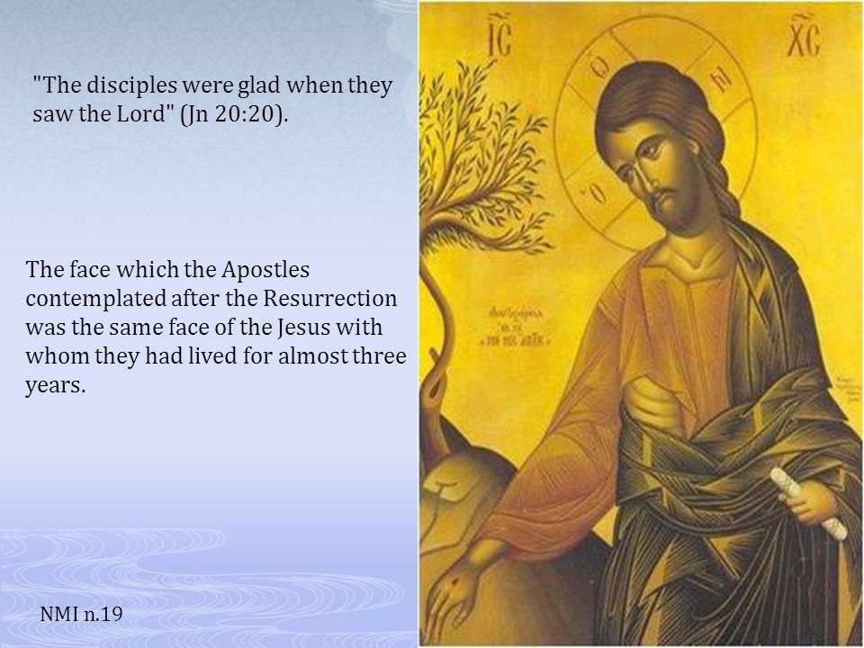 From the Gospels…the face of the Nazarene emerges with a solid historical foundation. NMI n.18