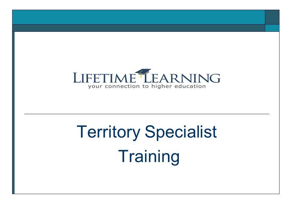 Territory Specialist Training