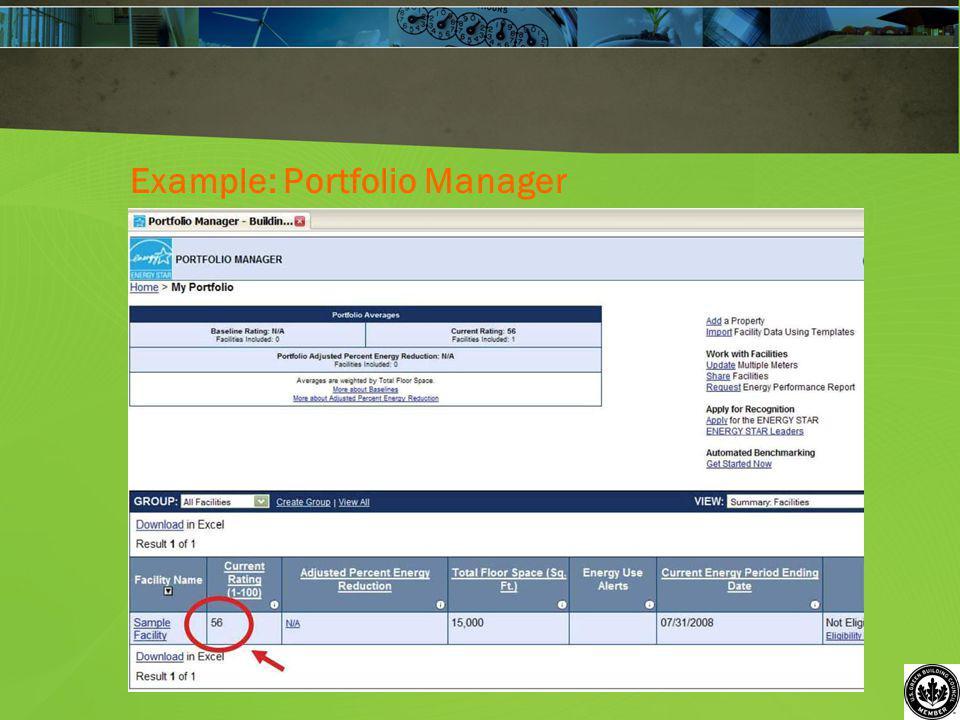 Example: Portfolio Manager