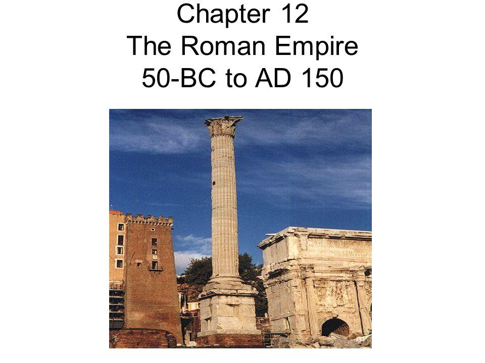 Roman Arches A Roman aqueduct