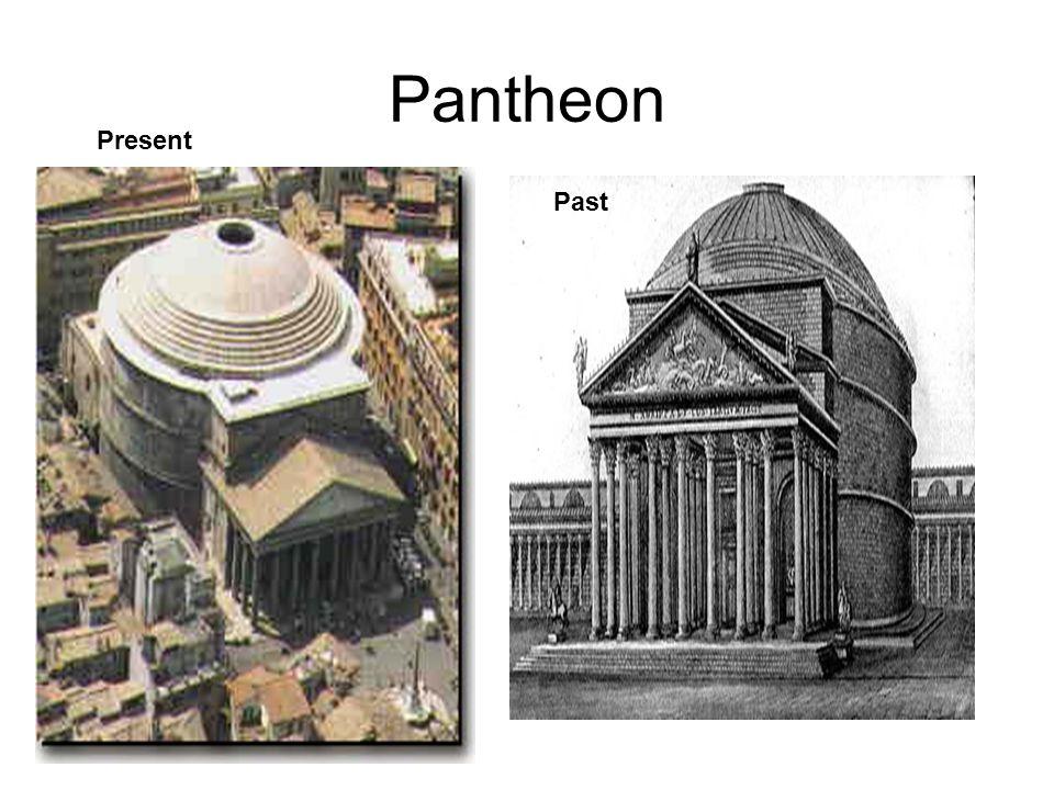 Past Pantheon Present