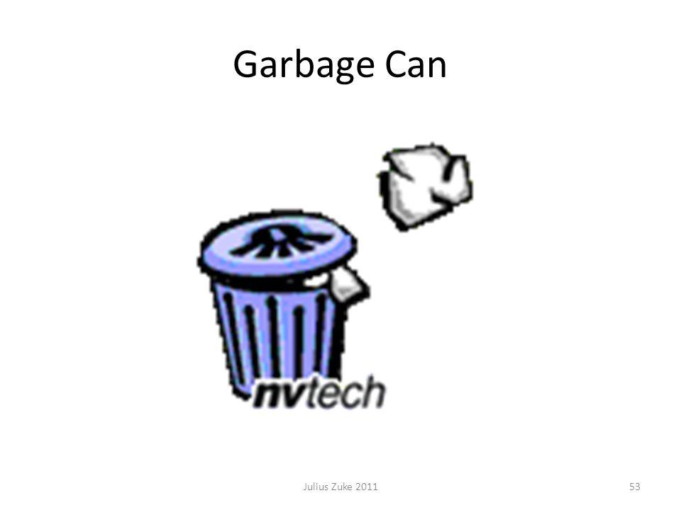 Garbage Can 53Julius Zuke 2011
