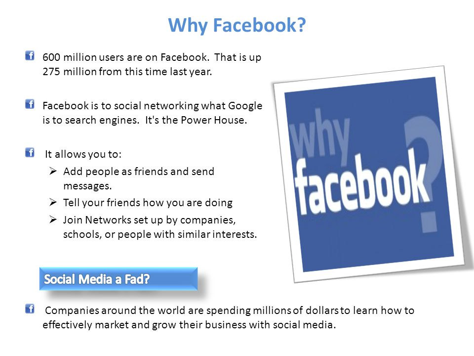 Marketplace is Facebooks classifieds listing service.