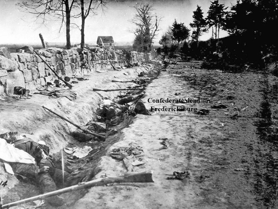 Confederate dead Fredericksburg