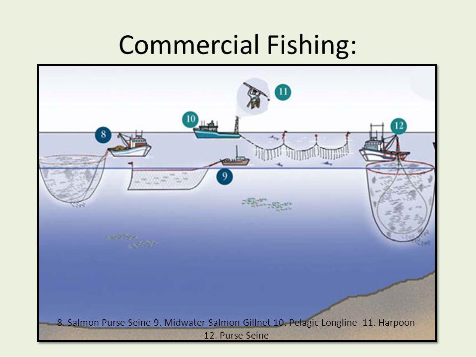 Commercial Fishing: 13.Groundfish Otter Trawl 14.