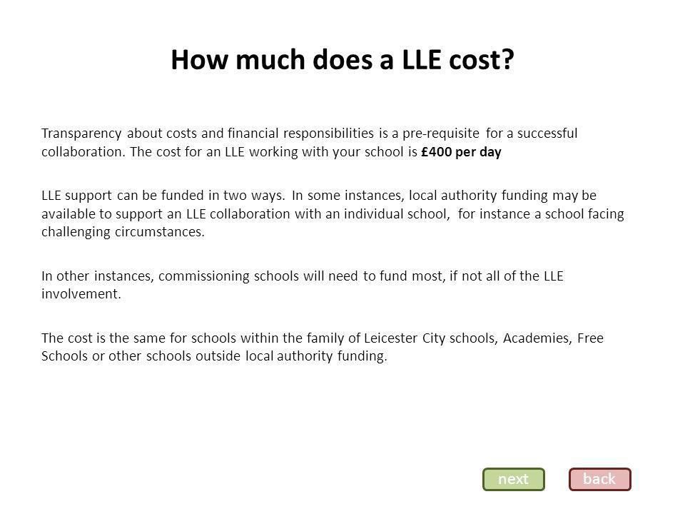 How can I find an LLE to work with me.