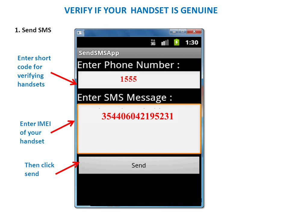 VERIFY IF YOUR HANDSET IS GENUINE 1555 354406042195231 1.