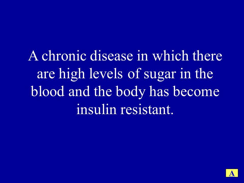 What is Diabetes (Type II).