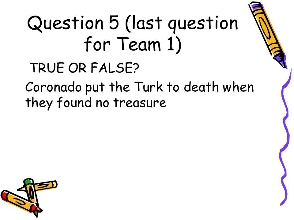 Answer to Question 4 Corpus Christi de la Ysleta