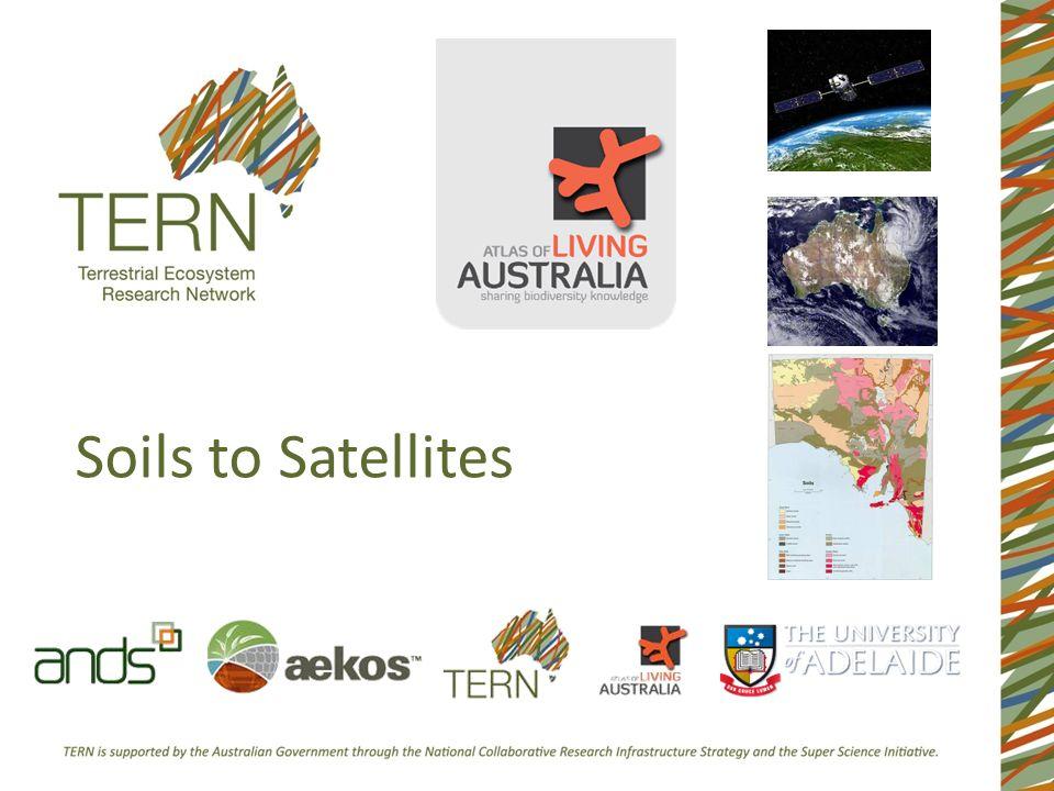 Soils to Satellites
