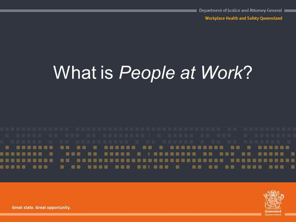 What is People at Work?