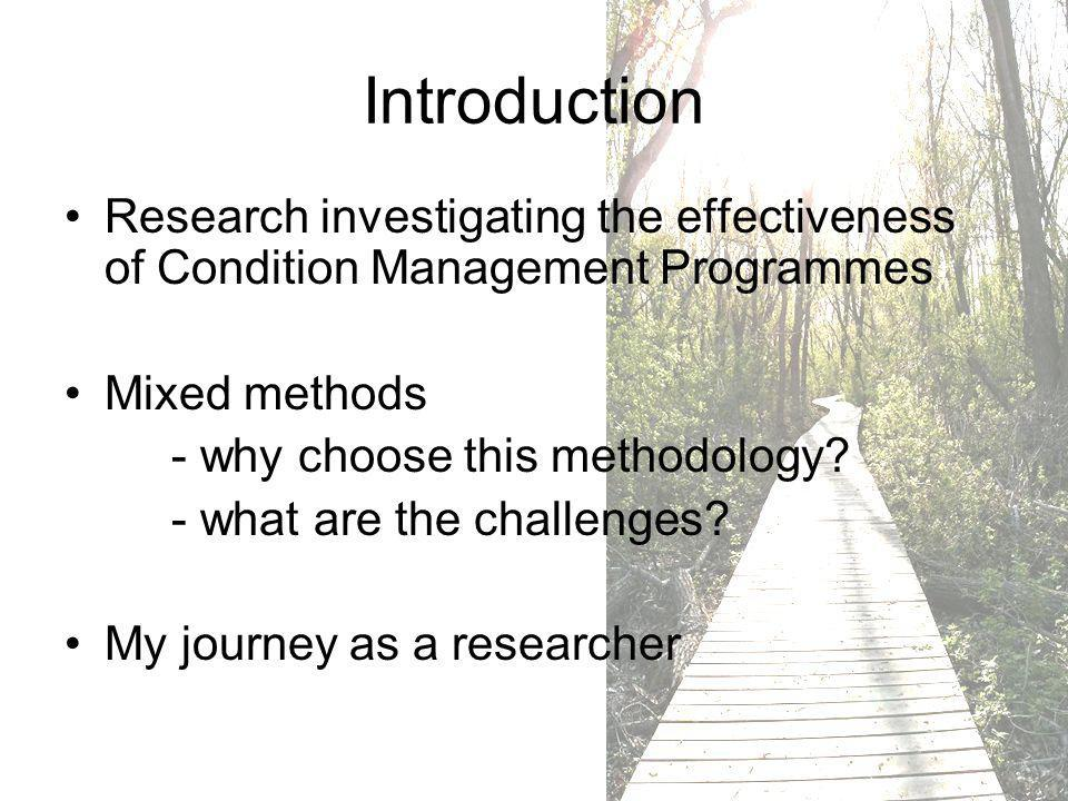 What are Condition Management Programmes.
