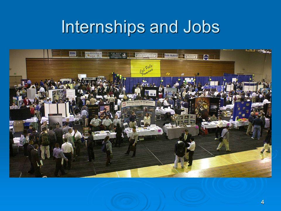 4 Internships and Jobs