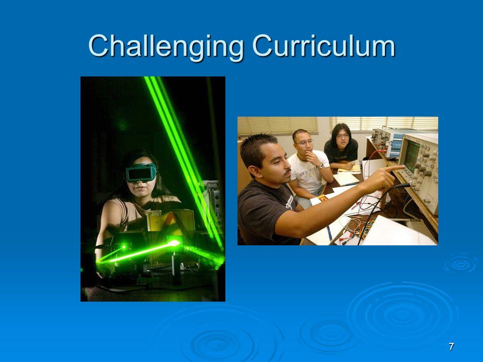 7 Challenging Curriculum