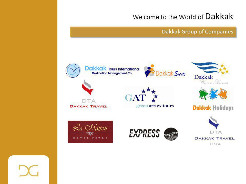 Welcome to the World of Dakkak Dakkak Group of Companies