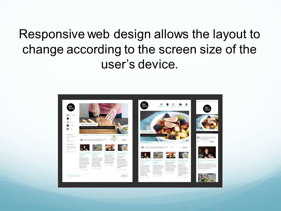 Flexible Web design is proportional from the smallest to the largest device, without those proportions straining.