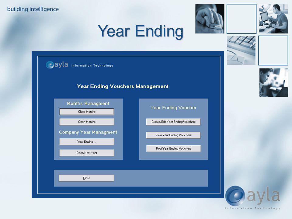 Year Ending Year Ending