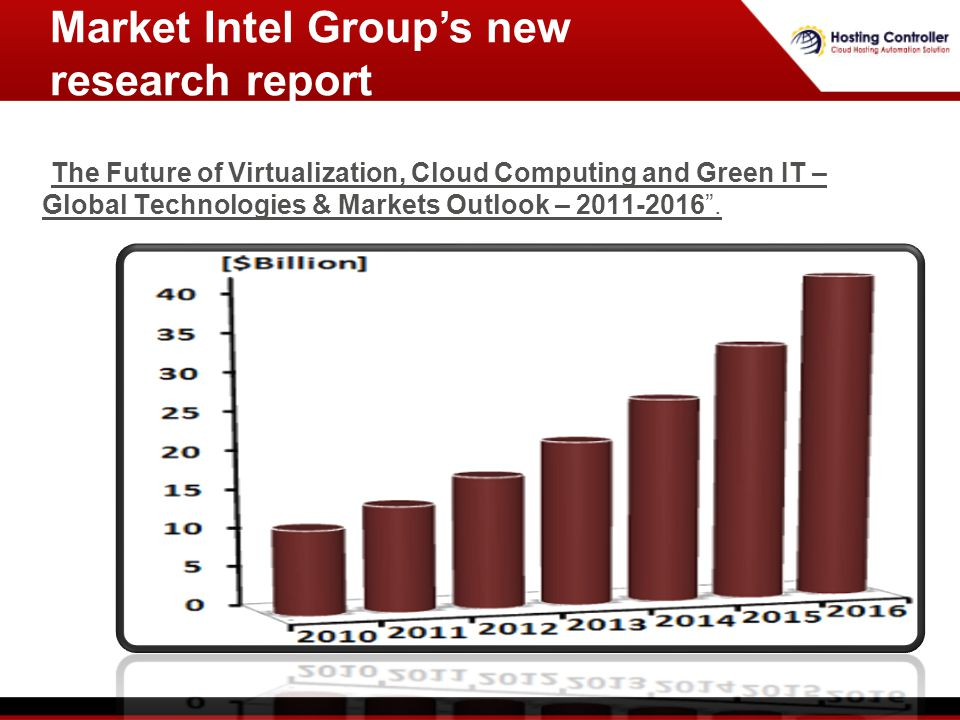 The Future of Virtualization, Cloud Computing and Green IT – Global Technologies & Markets Outlook – 2011-2016.The Future of Virtualization, Cloud Com