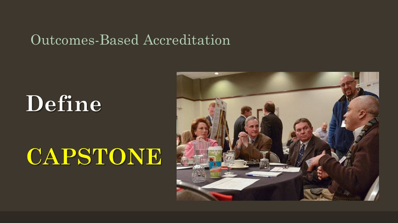 Outcomes-Based Accreditation