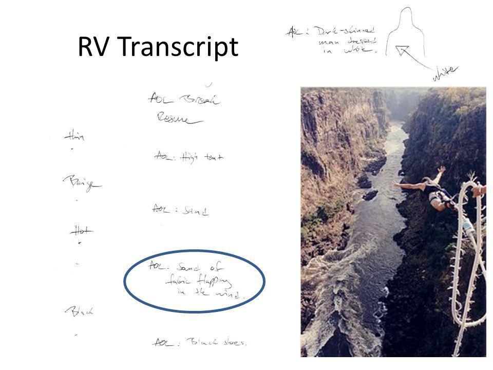 RV Transcript