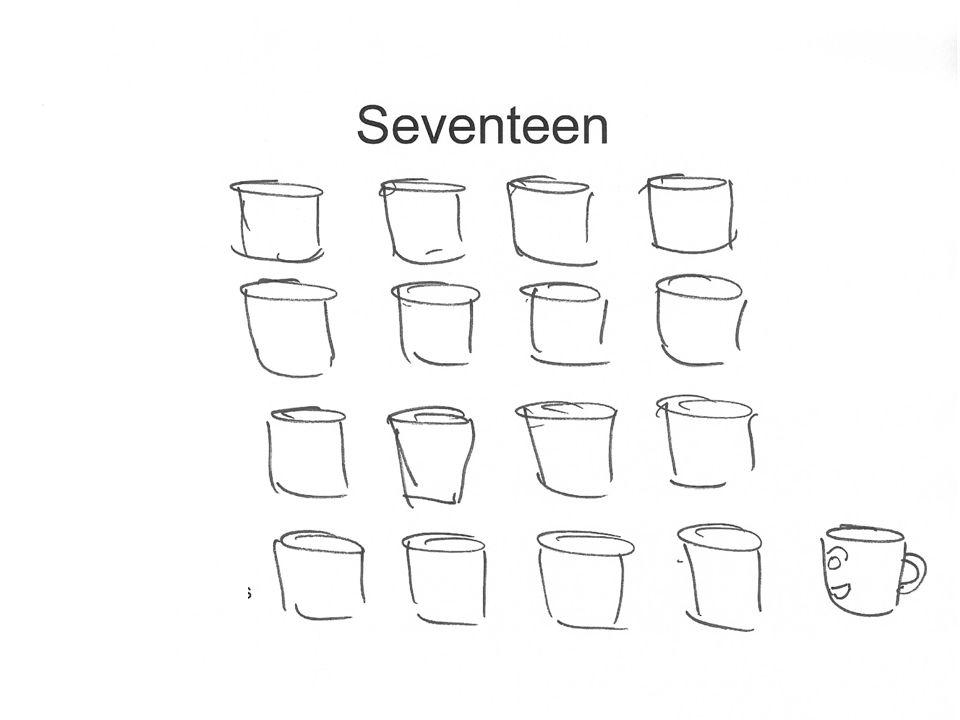 Seventeen cups
