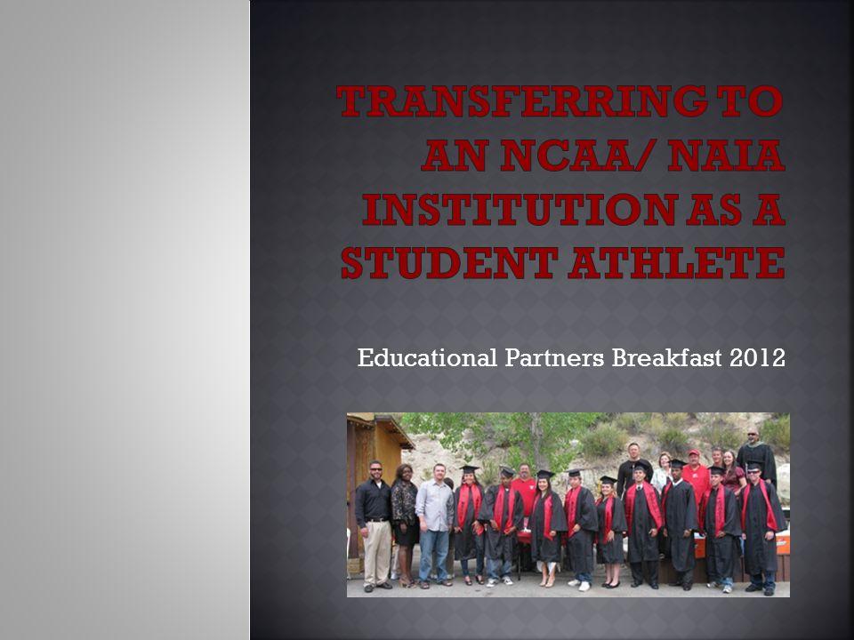 Educational Partners Breakfast 2012