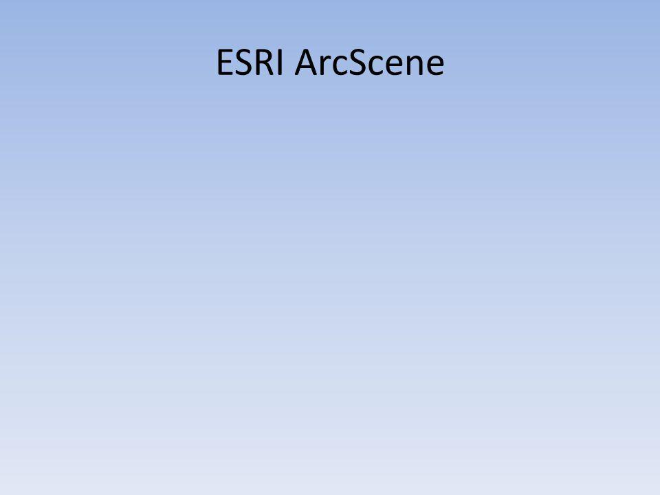 ESRI ArcScene