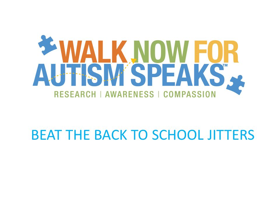 Workshop details The workshop will: – educate community members on how to recognize autism.